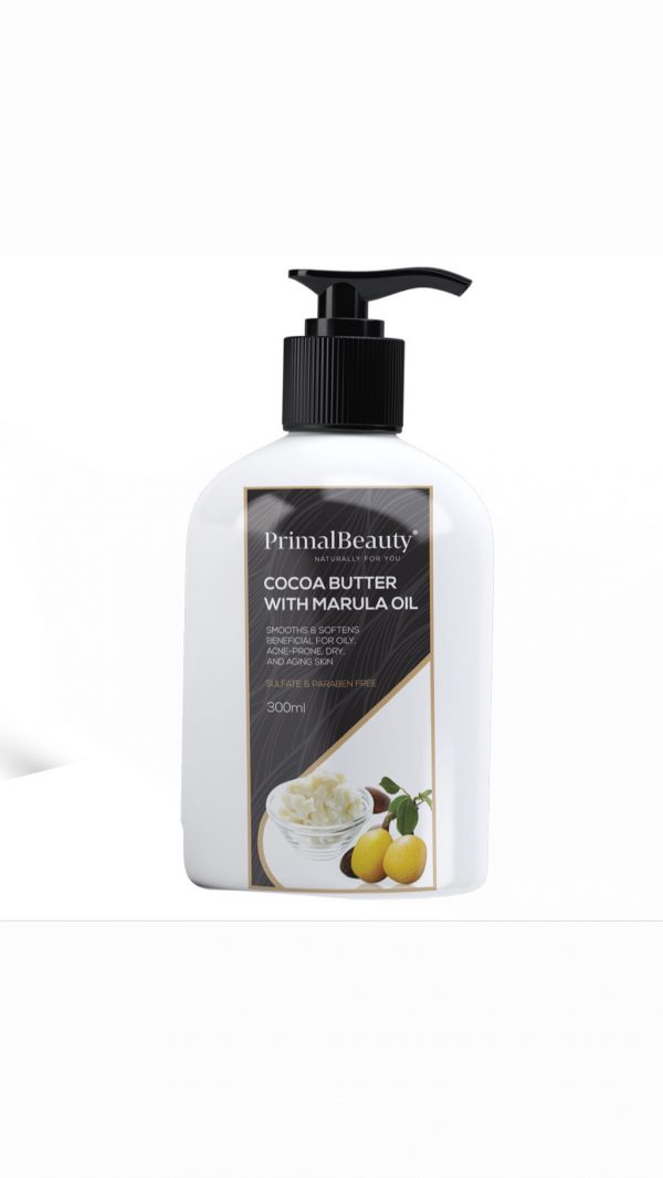 Hydrating Cocoa Butter Lotion for black skin
